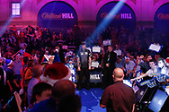 *** during the Darts World Championship 2018 at Alexandra Palace, London, United Kingdom on 18 December 2018.