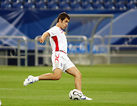 Photo: Chris Ratcliffe.<br />England Training Session. FIFA World Cup 2006. 30/06/2006.<br />Joe Cole in training.
