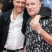 NLD/Almere/20140609 - Premiere Stuk de film, Hugo Metsers Sr en zoon Hugo Metsers jr.