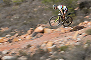 Nino Schurter of team Scott-Sram during stage 1 of the 2018 Absa Cape Epic Mountain Bike stage race held at the University of Cape Town (UCT) in Cape Town, South Africa on the 18th March 2018<br /> <br /> Photo by Greg Beadle/Cape Epic/SPORTZPICS<br /> <br /> PLEASE ENSURE THE APPROPRIATE CREDIT IS GIVEN TO THE PHOTOGRAPHER AND SPORTZPICS ALONG WITH THE ABSA CAPE EPIC<br /> <br /> {ace2018} Commercial photography commissioned to Beadle Photo by international brands