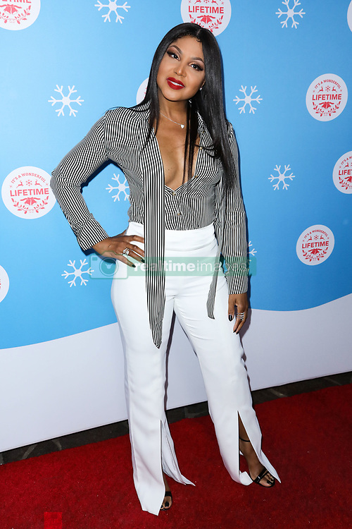 LOS ANGELES, CA, USA - NOVEMBER 14: The Stars Of Lifetime's Christmas Movies Celebrate The Opening Night Of Life-Sized Gingerbread House Experience held at The Grove on November 14, 2018 in Los Angeles, California, United States. 14 Nov 2018 Pictured: Toni Braxton. Photo credit: Xavier Collin/Image Press Agency/MEGA TheMegaAgency.com +1 888 505 6342