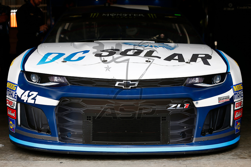 March 16, 2018 - Fontana, California, USA: The Monster Energy NASCAR Cup Series teams take to the track to practice for the Auto Club 400 at Auto Club Speedway in Fontana, California.