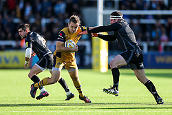 Adrian Jarvis of Bristol Rugby in action - Rogan Thomson/JMP - 08/10/2016 - RUGBY UNION - Kingston Park - Newcastle, England - Newcastle Falcons v Bristol Rugby - Aviva Premiership.