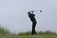 Joseph Byrne (Baltinglass) on the 8th tee during Round 3 of the Ulster Boys Championship at Donegal Golf Club, Murvagh, Donegal, Co Donegal on Friday 26th April 2019.<br /> Picture:  Thos Caffrey / www.golffile.ie