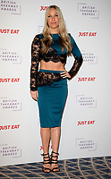 Chloe Madeley at The Fifth Annual British Takeaway Awards at The Savoy Hotel, London, UK <br /> 27/01/20