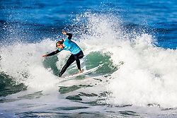 Sage Erickson (USA) will surf in Round 2 of the 2018 Roxy Pro France after placing second in Heat 3 of Round 1 in Hossegor, France.