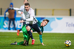 Lucas Hernandez of France during football match between Slovenia and France in Qualifying round for European Under-21 Championship 2019, on November 13, 2017 in Sportni park, Domzale, Slovenia.  Photo by Ziga Zupan / Sportida