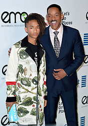 Will Smith and Jaden Smith attend the 26th Annual EMA Awards at Warner Bros. Studios on October 22, 2016 in Burbank, Los Angeles, CA, USA. Photo by Lionel Hahn/ABACAPRESS.COM
