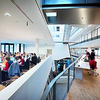 Nederland, Amsterdam , 23 november 2010..Hare Majesteit de Koningin opent op woensdag 24 november het nieuwe gebouw van de Faculteit der Natuurwetenschappen, Wiskunde en Informatica (FNWI) van de Universiteit van Amsterdam (UvA) op Science Park Amsterdam. In het nieuwe gebouw zijn alle bètadisciplines van de UvA - onderwijs en onderzoek - bij elkaar gebracht onder één dak..Foto:Jean-Pierre Jans