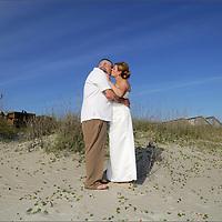 Caswell, NC Beach Wedding