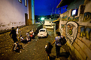 Sabara_MG, Brasil...A TV Muro e uma pequena organizacao produtora de televisao brasileira localizada na cidade de Sabara. E intitulada a menor rede de televisao do mundo. ..The TV Muro is a small Brazilian television network, located in Sabara. Its the smallest TV in the world. ..Foto: JOAO MARCOS ROSA / NITRO