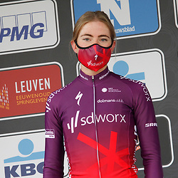 14-04-2021: Wielrennen: Brabantse Pijl women: Overijse: Ruth Winder wint de Brabantse Pijl voor Demi Vollering en Elisa Balsamo