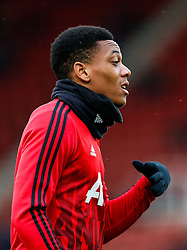 Anthony Martial of Manchester United looks on - Mandatory byline: Rogan Thomson/JMP - 26/12/2015 - FOOTBALL - Britannia Stadium - Stoke, England - Stoke City v Manchester United - Barclays Premier League - Boxing Day Fixture.