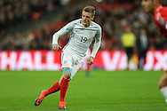 Jamie Vardy of England in action. FIFA World cup qualifying match, european group F, England v Malta at Wembley Stadium in London on Saturday 8th October 2016.<br /> pic by John Patrick Fletcher, Andrew Orchard sports photography.
