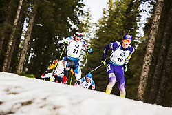 Dmytro Pidruchnyi (UKR) during the Mass Start Men 15 km at day 4 of IBU Biathlon World Cup 2019/20 Pokljuka, on January 23, 2020 in Rudno polje, Pokljuka, Pokljuka, Slovenia. Photo by Peter Podobnik / Sportida