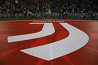 Striscione Juventus, banner<br /> Roma 09-05-2018  Stadio Olimpico  <br /> Football Calcio Finale Coppa Italia / Italy's Cup Final 2017/2018 <br /> Juventus - Milan<br /> Foto Cesare Purini / Insidefoto
