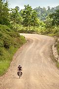 Philippines, Palawan Island, cycling from El Nido to Tay Tay,