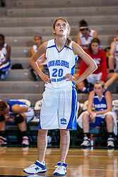 18 June 2011: Paige Nord at the 2011 IBCA (Illinois Basketball Coaches Association) girls all star games.