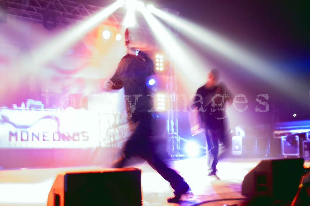 Cypress hill  performing at the Monegros festival in 2005