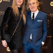 NLD/Hilversum/20200130 - Uitreiking De Gouden RadioRing 2020, Annemieke Schollaardt en partner Phil Tilli