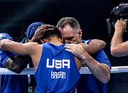 Boxen: AIBA Box-WM, Day 6, Hamburg, 20.08.2017<br /> 56 Kg: Gaurav Bidhuri (IND, red) - Duke Ragan (USA, blue)<br /> © Torsten Helmke