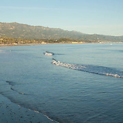 The beach at Santa Barbara,CA.