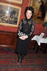 LULU GUINNESS at a party hosted by Justine Picardie, Editor-in-Chief of Harper's Bazaar UK and Glenda Bailey, Editor-in-Chief of Harper's Bazaar US to celebrate the end of London Fashion Week and the biggest-ever March issues of Harper's Bazaar, held at Mark's Club, Charles Street, London on 19th February 2013.