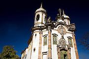 Ouro Preto_MG, Brasil...Igreja Sao Francisco de Assis em Ouro Preto...Sao Francisco de Assis church in Ouro Preto...Foto: BRUNO MAGALHAES /  NITRO.