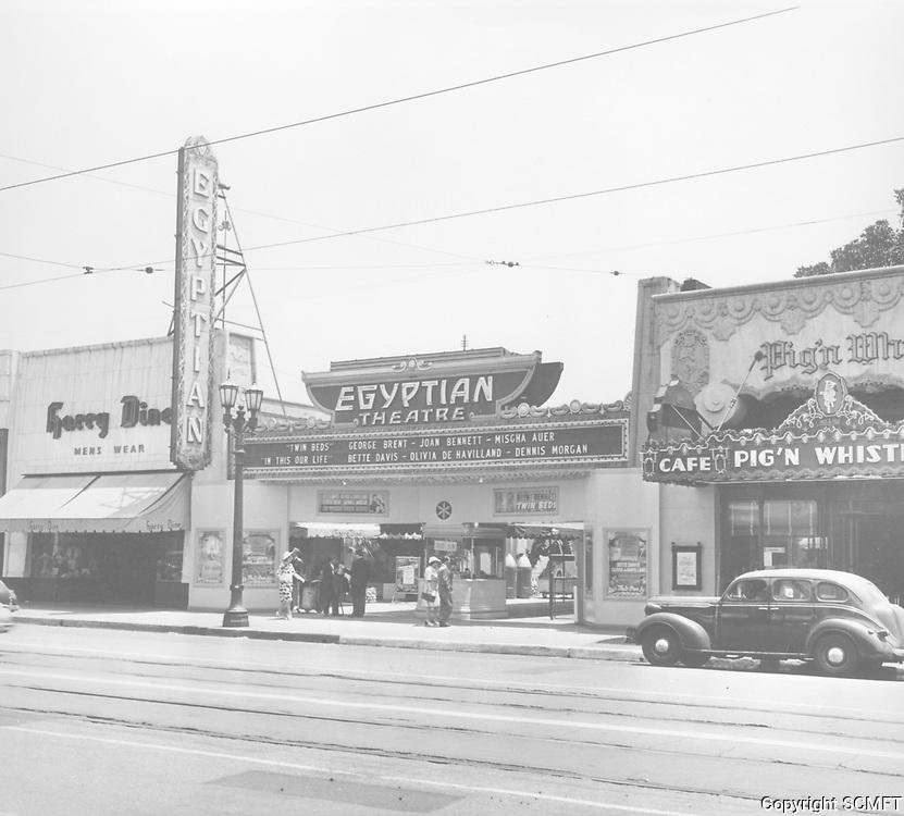 1942 Pig n' Whistle Restaurant