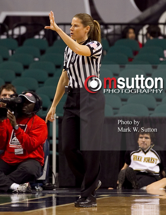 2012 ACC Womens Basketball Tournament Referees - Images