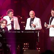 NLD/Hilversum/20120205 - Concert tbv Stichting DON, optreden Michiel Borstlap, Sonny's Inc., Rene Froger en Jeroen van der Boom