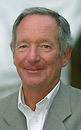 BBC journalist Michael Buerk, pictured at the Edinburgh International Book Festival, where he took part in a discussion about war reporting. The book festival was a part of the Edinburgh International Festival, the largest annual arts festival in the world.