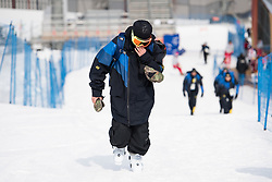 February 18, 2018 - Pyeongchang, SOUTH KOREA - 180218 Henrik Harlaut of Sweden looks dejected after his last run in the Men's Slopestyle Finale during day nine of the 2018 Winter Olympics on February 18, 2018 in Pyeongchang..Photo: Petter Arvidson / BILDBYRN / kod PA / 91979 (Credit Image: © Petter Arvidson/Bildbyran via ZUMA Press)