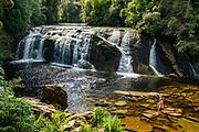 Coal Creek Track is an easy bush walk to Coal Creek Falls, in Runanga, near Greymouth, on the West Coast of New Zealand's South Island.