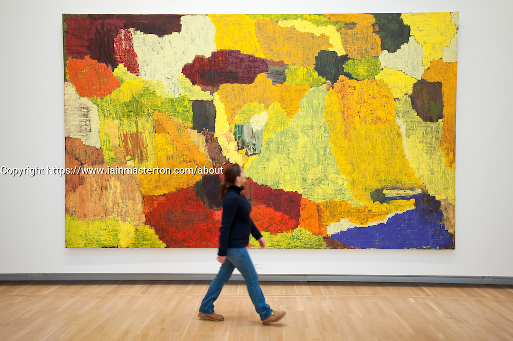 Untitled by Per Kirkeby at Statens Museum for Kunst or Royal Museum of Fine Arts in Copenhagen Denmark