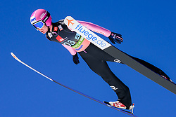March 23, 2019 - Planica, Slovenia - Lukas Hlava of Czech Republic in action during the team competition at Planica FIS Ski Jumping World Cup finals  on March 23, 2019 in Planica, Slovenia. (Credit Image: © Rok Rakun/Pacific Press via ZUMA Wire)