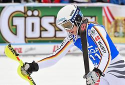 28.12.2017, Hochstein, Lienz, AUT, FIS Weltcup Ski Alpin, Lienz, Slalom, Damen, 2. Lauf, im Bild Lena Duerr (GER) // Lena Duerr of Germany reacts after her 2nd run of ladie's Slalom of FIS ski alpine world cup at the Hochstein in Lienz, Austria on 2017/12/28. EXPA Pictures © 2017, PhotoCredit: EXPA/ Erich Spiess