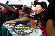 October 30-November 2 : United States Grand Prix 2014, Sergio Perez (MEX), Force India-Mercedes fans