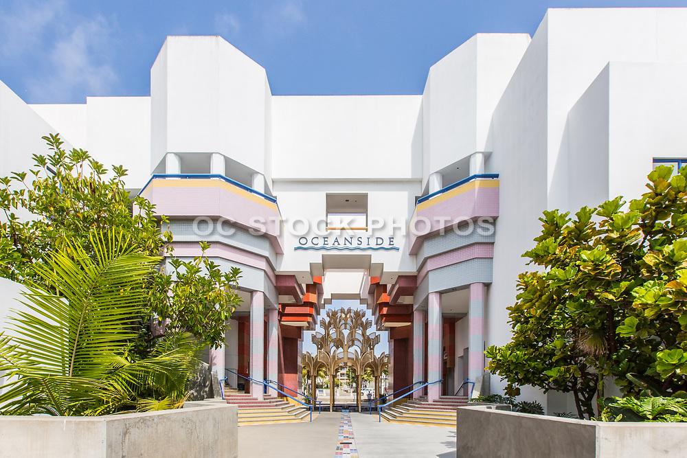 Oceanside Civic Center Front Entrance