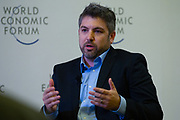 Natan Linder, Chief Executive Officer, Tulip Interfaces, USA during the session: Enabling the Production Workforce of the Future at the World Economic Forum - Annual Meeting of the New Champions in Tianjin, People's Republic of China 2018.Copyright by World Economic Forum / Greg Beadle
