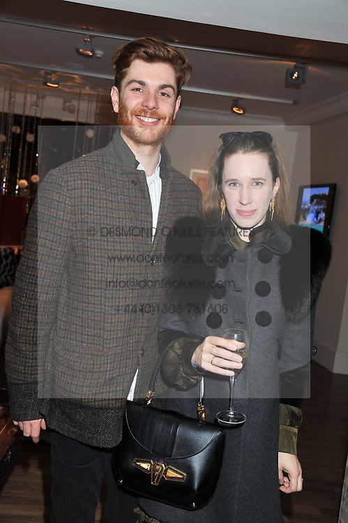 A dinner hosted by Ruinart Champagne in honour of David Linley was held at Linley, 60 Pimlico Road, London SW1 on 8th December 2011.<br /> RODOLPHE & LADY FRANCES VON HOFMANSTHAL