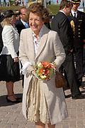Koninginnedag 2007 in het vestingsstadje Woudrichem / Queensday 2007 in the small village Woudrichem.<br /> <br /> Op de foto / On the Photo; Prinses Margriet