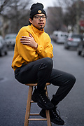 Andres Hernandez, Queens on 3/10/2019. Photograph by Luisa Madrid for the LaGuardia and Wagner Archives, LaGuardia Community College/CUNY.