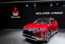 Mitsubishi Eclipse Cross car at 87th Geneva International Motor Show in Geneva Switzerland 2017