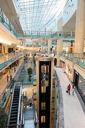 Interior of Abu Dhabi shopping mall  in Abu Dhabi UAE