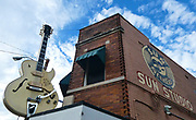 Sun Record Studios, Memphis, Tennessee where Elvis Presley recorded much of his early work