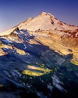 Sunrise on Mount Baker, North Cascades Washington USA