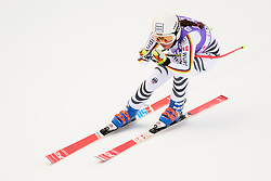 January 19, 2018 - Cortina D'Ampezzo, Dolimites, Italy - Kira Weidle of Germany competes  during the Downhill race at the Cortina d'Ampezzo FIS World Cup in Cortina d'Ampezzo, Italy on January 19, 2018. (Credit Image: © Rok Rakun/Pacific Press via ZUMA Wire)