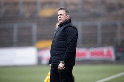 Edinburgh City's manager Gary Jardine. Forfar Athletic 1 v 2 Edinburgh City, Scottish Football League Division Two played 11/3/2017 at Station Park.
