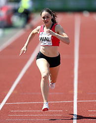 Laura Maddox in the 400m during the Loughborough International Athletics Meeting at the Paula Radcliffe Stadium, Loughborough. PRESS ASSOCIATION Photo. Picture date: Sunday May 20, 2018. See PA story ATHLETICS Loughborough. Photo credit should read: David Davies/PA Wire.